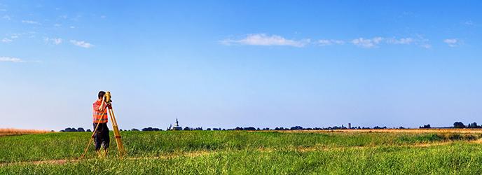 Land Surveyor Banner Image