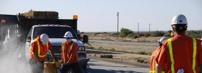 Road Maintenance Worker Banner Image